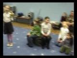 Фрагмент репетиции театра